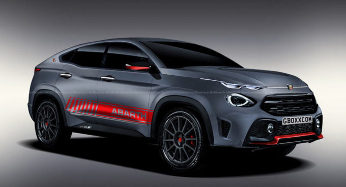 Fiat Fastback Abarth - Rendering