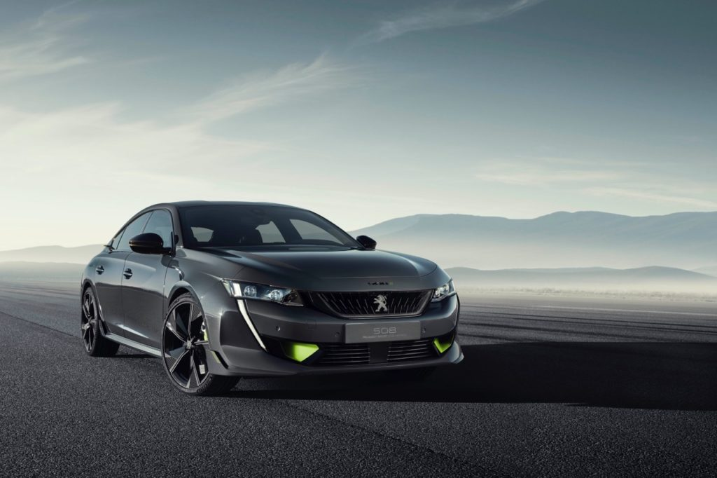 Peugeot 508 Peugeot Sport Engineered Concept - Foto ufficiali