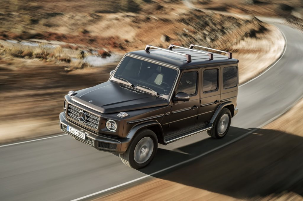 Mercedes Classe G: EuroNCAP la valuta con cinque stelle [VIDEO]