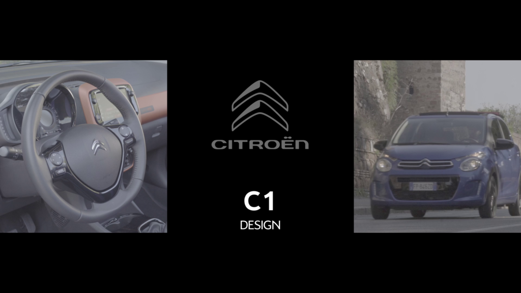 Citroen C1: la city car mette in mostra il design [VIDEO]