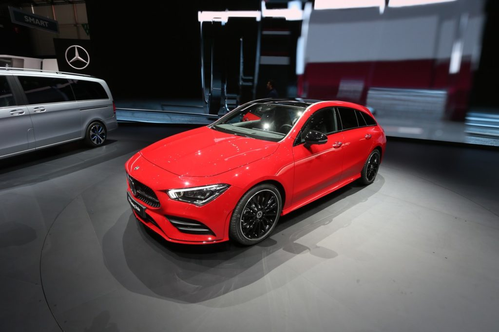 Mercedes CLA Shooting Brake - Salone di Ginerva 2019