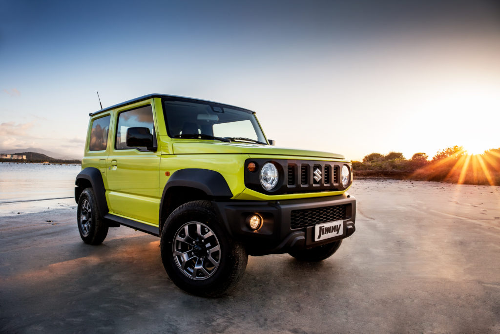 Suzuki Jimny è fra i tre modelli finalisti del World Urban Car e World Car Design 2019