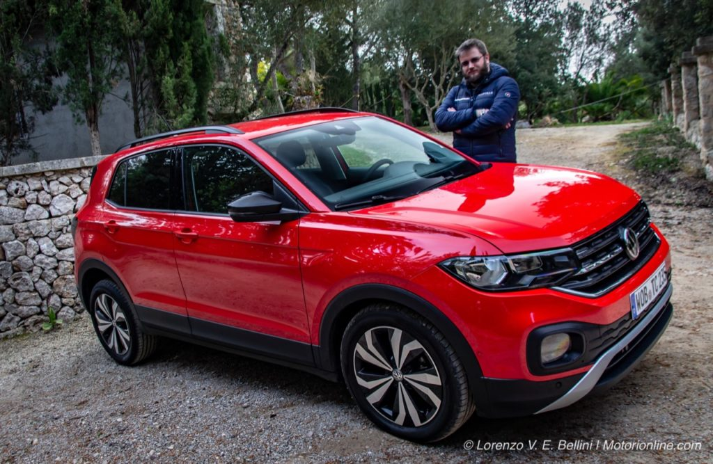 Volkswagen T-Cross - Test Drive in Anteprima