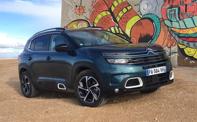 Citroen C5 Aircross: EuroNCAP la valuta tra quattro e cinque stelle [VIDEO]