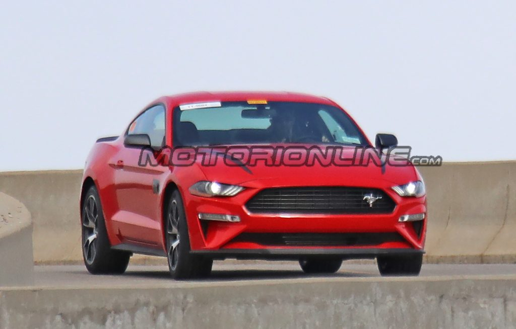 Ford Mustang SVO - Foto spia 09-04-2019