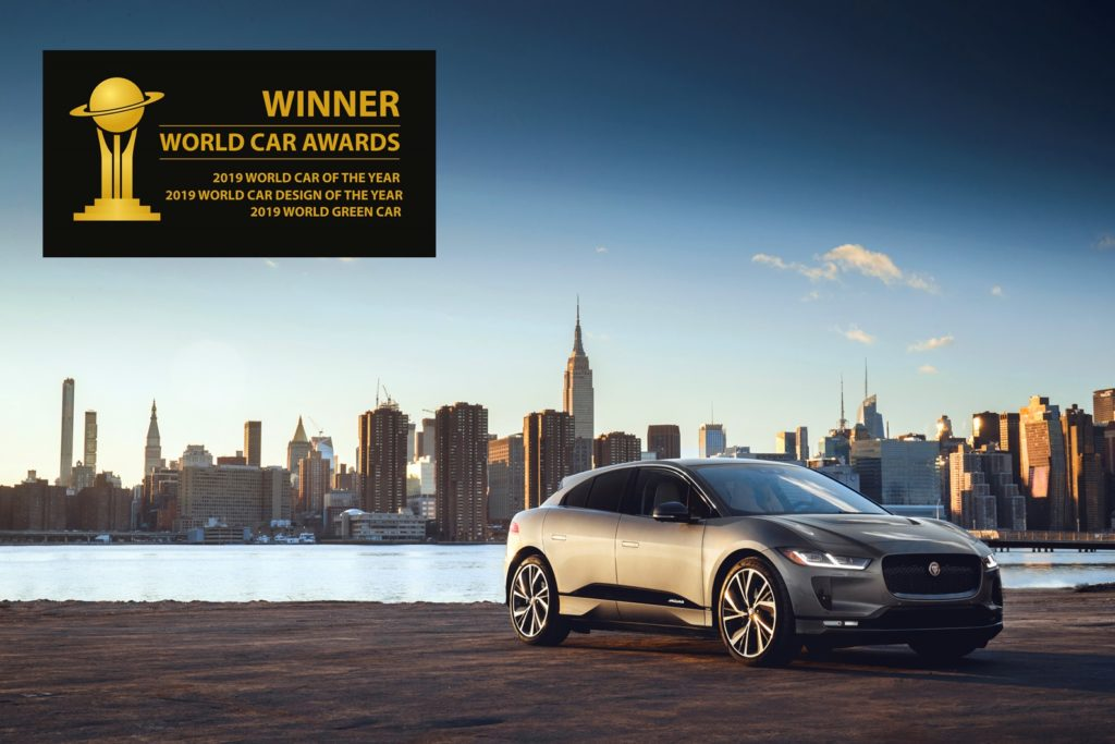 Jaguar I-Pace eletta World Car of the Year 2019