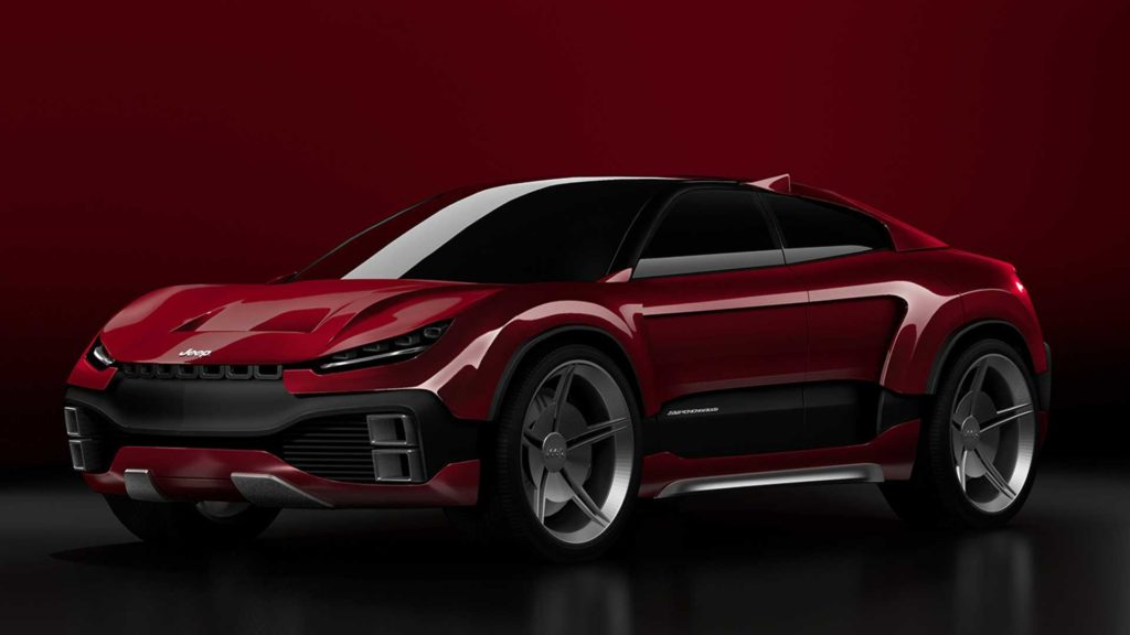 Jeep Trackhawk Coupe - Rendering