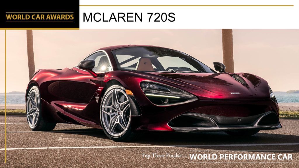 McLaren 720S: è lei la World Performance Car 2019