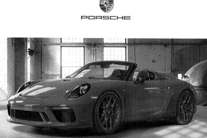 Porsche 911 Speedster: probabile debutto al Salone di New York 2019