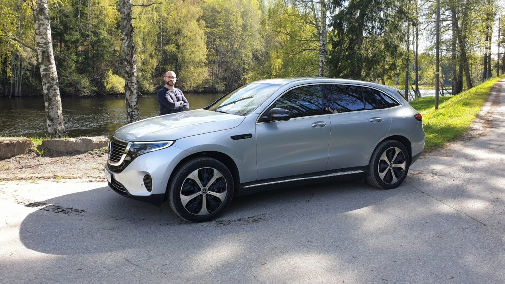 Mercedes EQC 2019 - Prova in Oslo