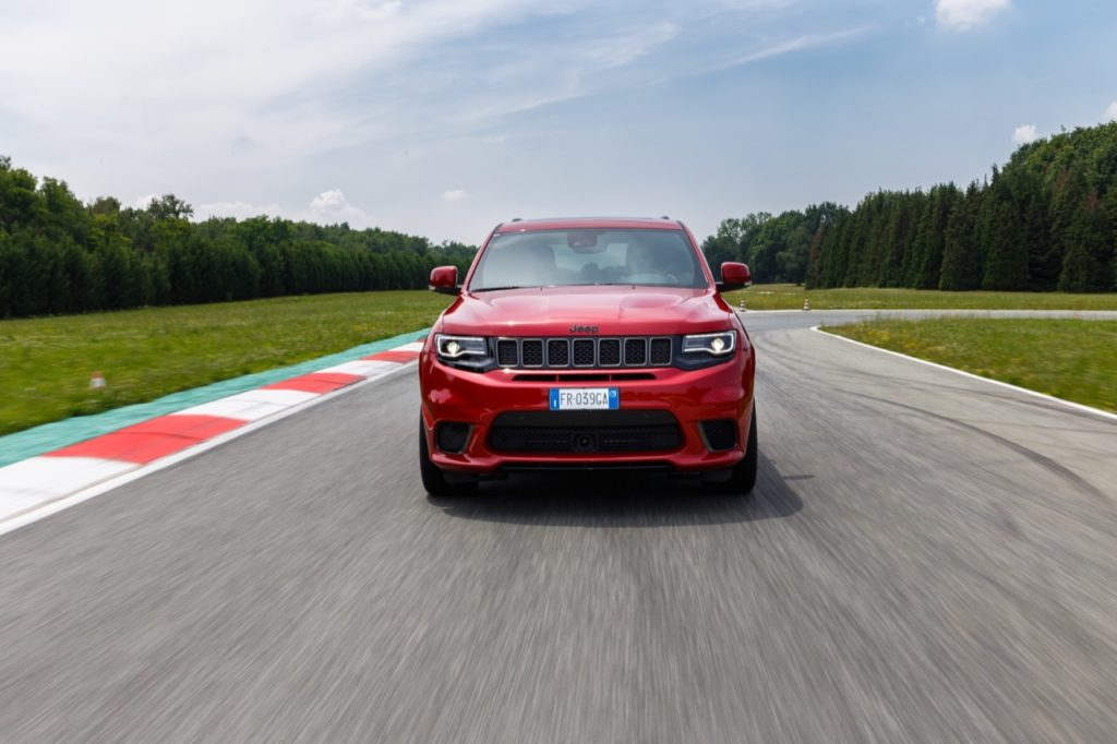 Jeep al Goodwood Festival of Speed 2019: Grand Cherokee Trackhawk nella Run Up of the Hill