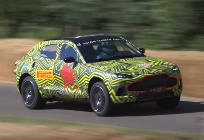 Aston Martin DBX: prima uscita pubblica al Festival of Speed di Goodwood [VIDEO]