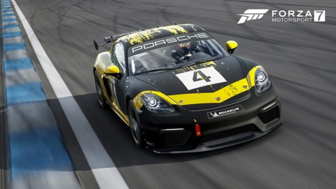 Forza Motorsport 7 accoglie la nuova Porsche 718 Cayman GT4 Clubsport [VIDEO]