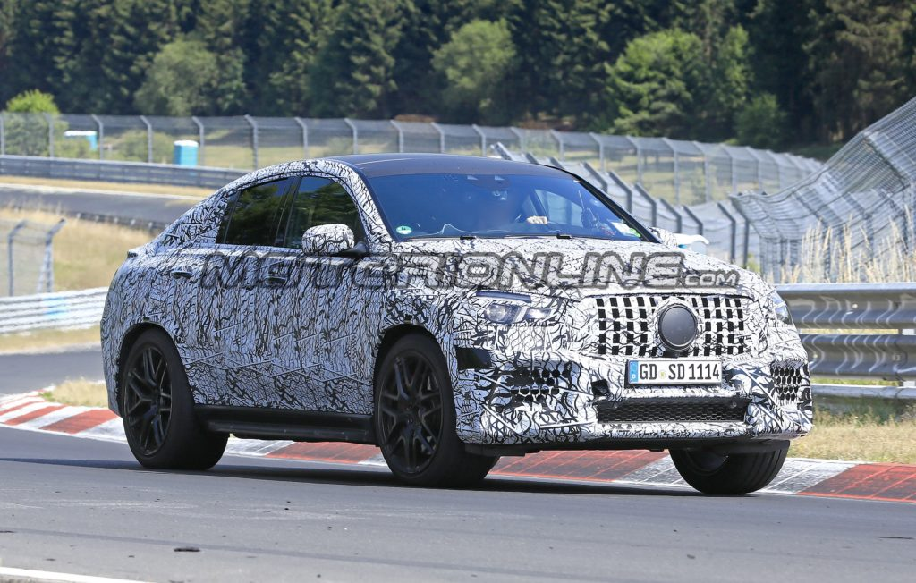 Mercedes GLE 63 AMG Coupe 2020 - Foto spia 22-08-2019