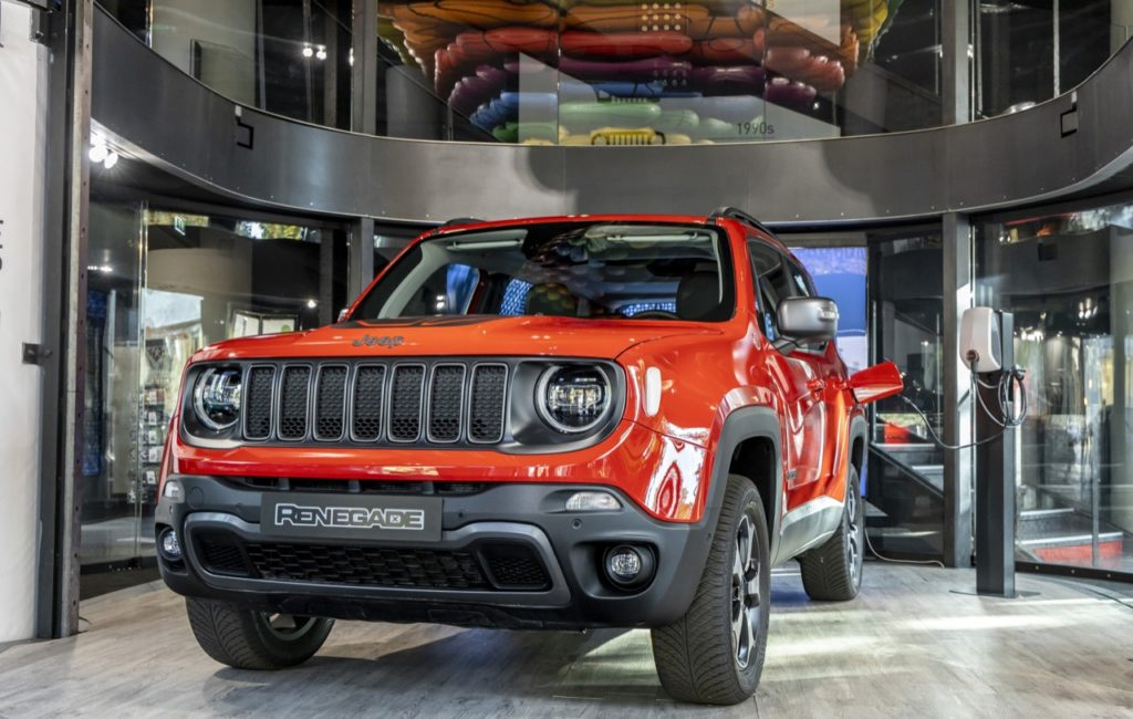 Jeep Renegade Hybrid Plug-in - MotorVillage Champs-Elysees 2019