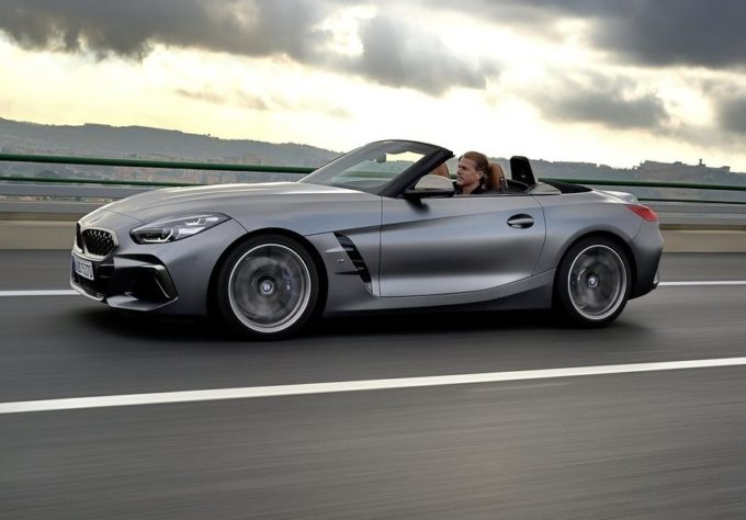 BMW Z4: cinque stelle Euro NCAP per la roadster dell'Elica [VIDEO]