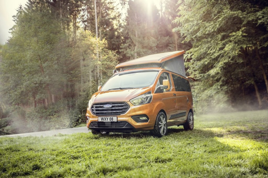 Ford Transit Nugget: sempre connesso con FordPass Connect