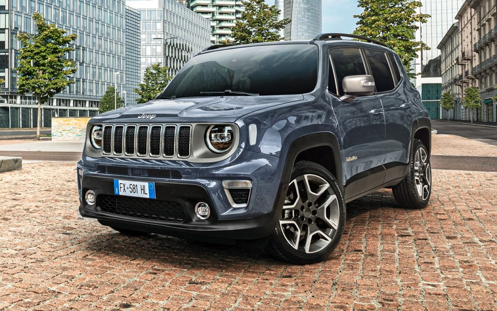 Nuova Jeep Renegade 2020 porta al debutto la Uconnect Box ...