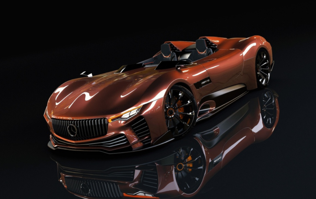 Mercedes-AMG Roadster - Rendering
