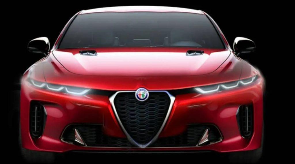 Alfa Romeo Giulia Quadrifoglio 2020: un nuovo render cattivissimo!