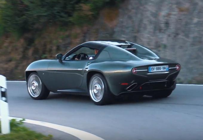 Alfa Romeo Disco Volante: filmata tra le strade delle montagne svizzere [VIDEO]