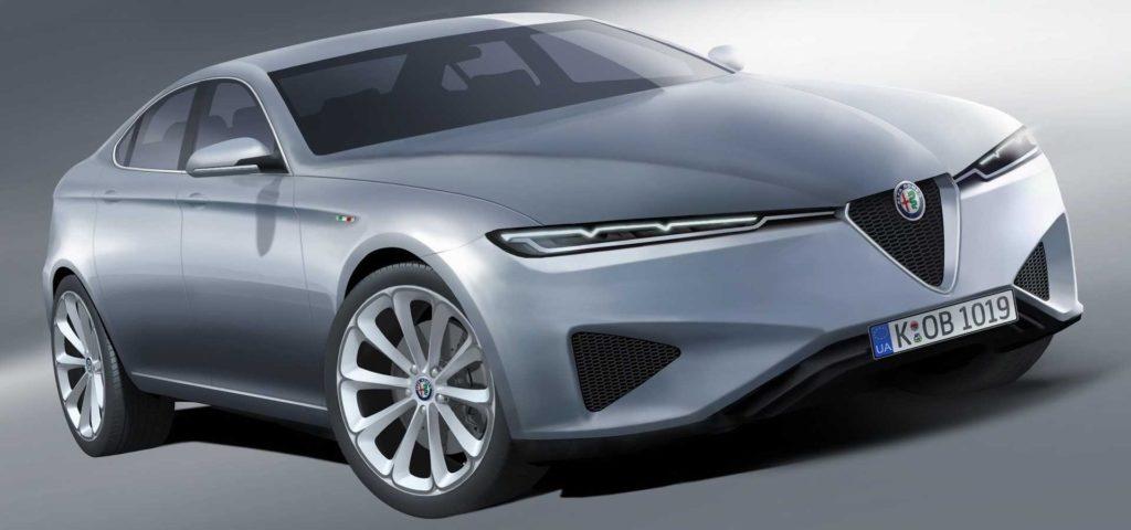 Alfa Romeo Giulia, quale futura erede? L'ipotesi stilistica di una nuova berlina [RENDERING]