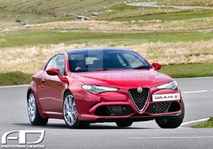 Alfa Romeo Giulia Hatchback: il RENDERING che strizza l'occhio alla Brera