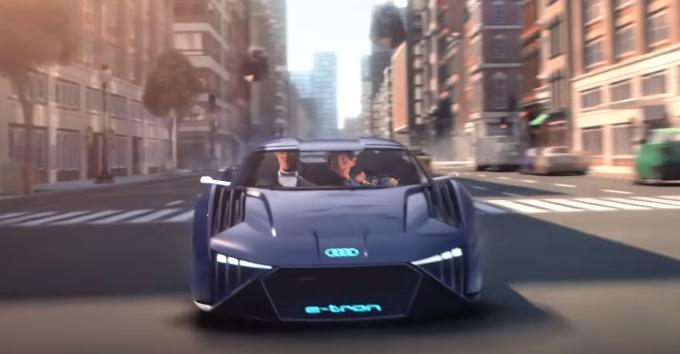 Audi RSQ e-tron Concept