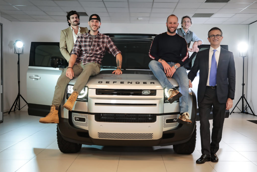 Nuova Land Rover Defender: quattro italiani per quattro anime diverse
