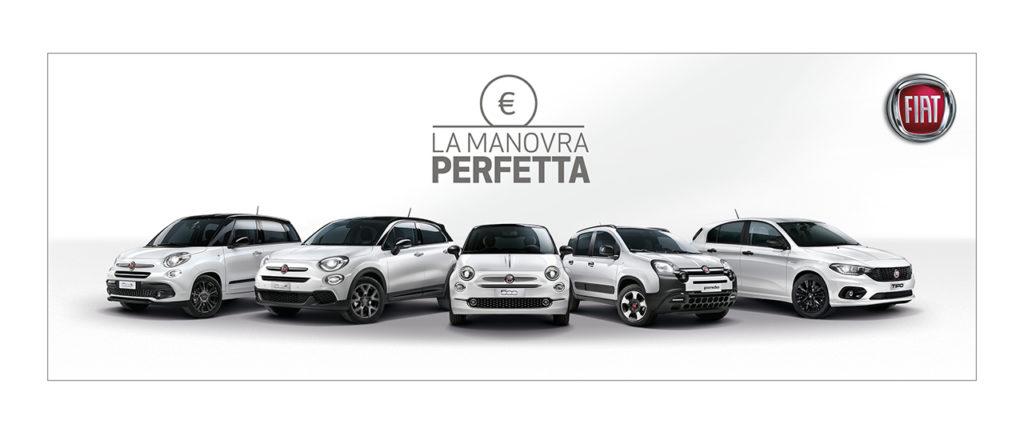 """Fiat e Lancia: fino al 30 novembre sconto pari al valore dell'Iva con la """"Manovra Perfetta"""""""