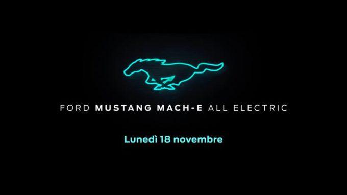 Ford Mach-E - Foto spia 8-11-2019