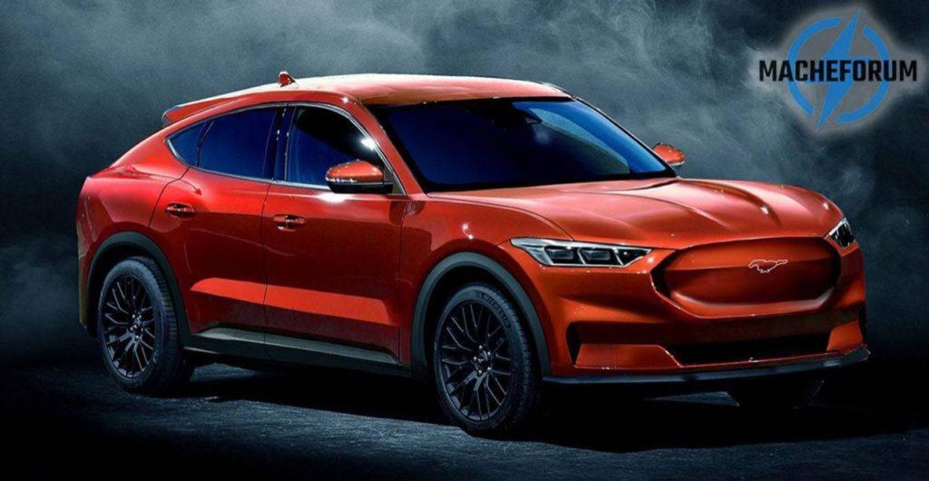Ford, SUV elettrico ispirato alla Mustang, ipotesi stilistica [RENDERING]
