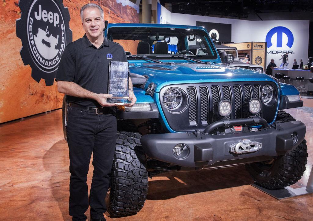 Jeep Wrangler: è stata nominata '4×4 of the Year' al SEMA 2019