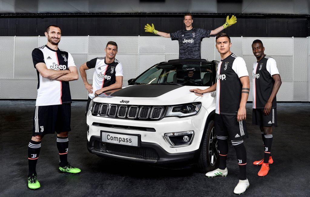 Jeep Compass 122, la serie speciale dedicata all'anniversario della Juventus