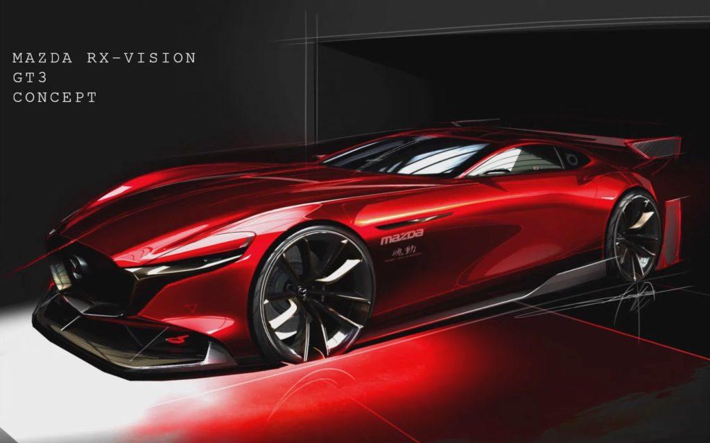 Mazda RX-Vision GT3 Concept: supercar virtuale per Gran Turismo Sport