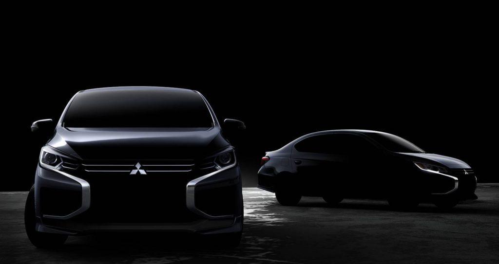 Mitsubishi Space Star e Attrage 2020: il restyling sarà svelato il 18 novembre [TEASER]