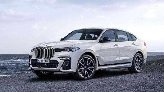 BMW X8, il SUV coupè potrebbe arrivare a fine 2020 [RENDERING]