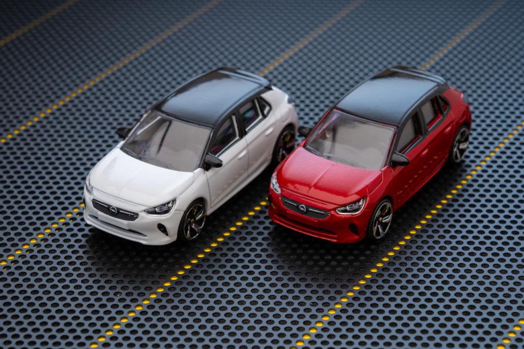 Opel Corsa: c'è anche il modellino in scala 1:55