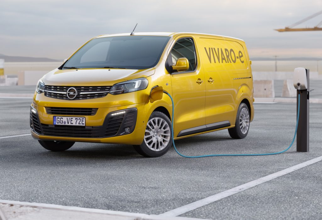 Opel Vivaro-e: eletto furgone dell'anno da 'What car?'