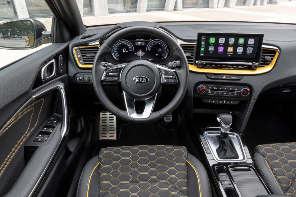 Kia XCeed 2019: infotainment e tecnologia di bordo con UVO Connect