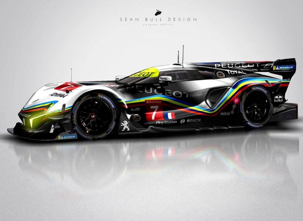 Peugeot Hypercar Le Mans 2021: il RENDERING che porta il Leone al WEC