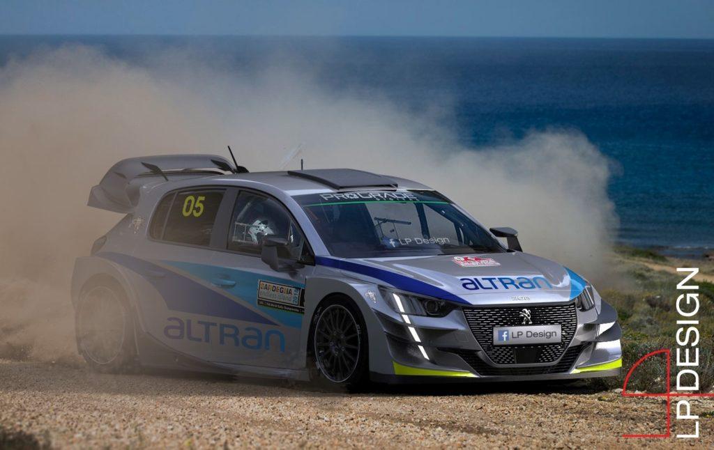 Peugeot 208 WRC: la nuova vettura da corsa del Leone immaginata così [RENDERING]