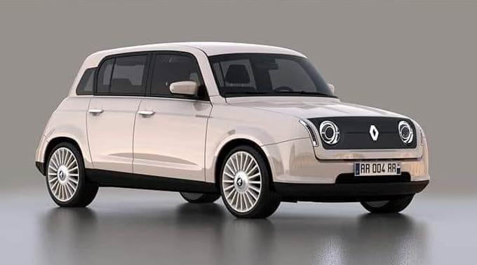 Renault 4 2020: una fantasiosa riproposizione in chiave moderna [RENDERING]