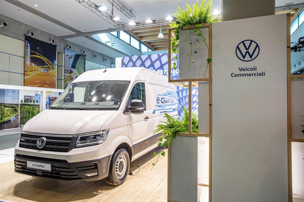 Volkswagen e-Crafter: il furgone elettrico protagonista a Key Energy 2019