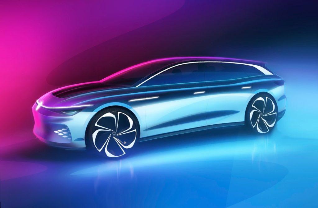 Volkswagen ID Space Vizzion Concept -  Bozzetti