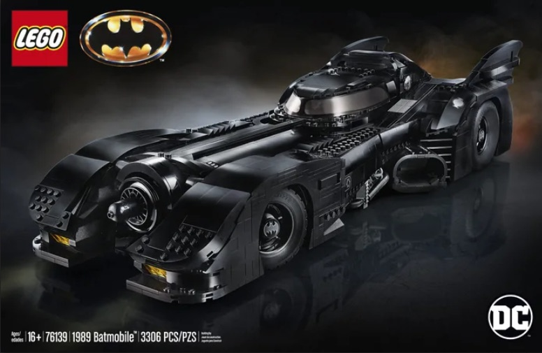 Lego Batmobile: un set dedicato al film su Batman del 1989 [VIDEO]