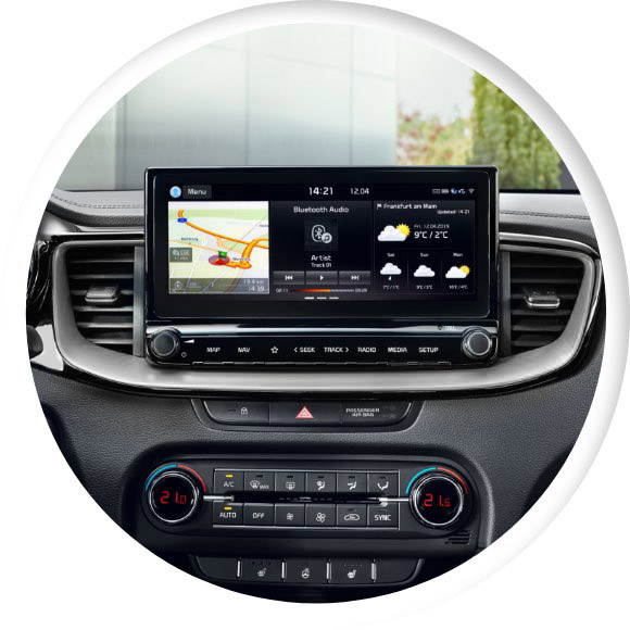 Kia XCeed 2019: l'app UVO Connect e Kia Live