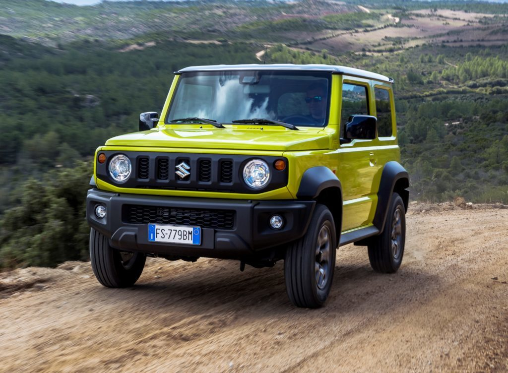 Suzuki Jimny: come funziona l'Hill Descent Control [VIDEO]