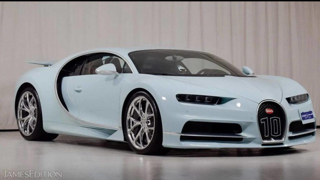 Bugatti ChironVainqueur de Coeur