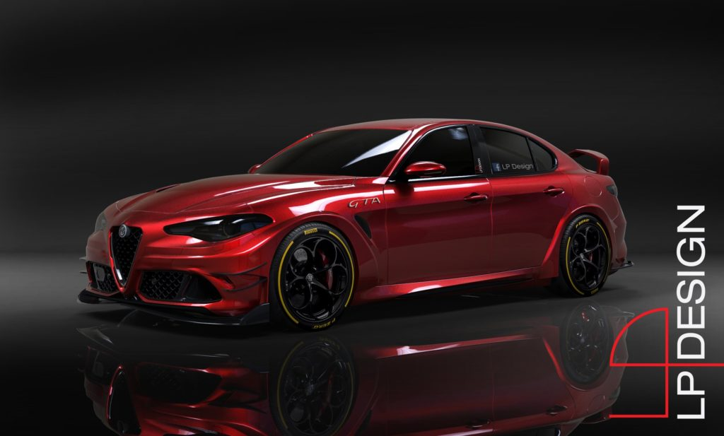 Alfa Romeo Giulia GTA: sognando una versione hard della berlina con più di 600 CV [RENDERING]